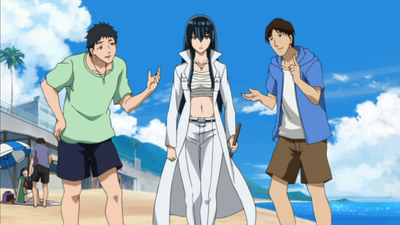 The Delinquents Have Changed Into Swimsuits