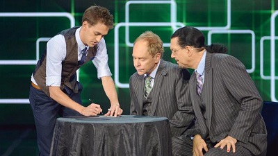 Teller Plays with a Full Deck