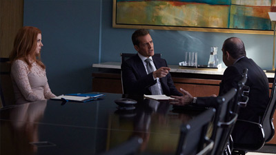 Suits - The Statue - Season 7 Episode 2
