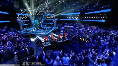 The Voice (US) - Blind Auditions (1) - Season 3 Episode 1