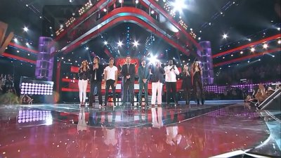 The Voice (US) - Live Top 8 Performances - Season 3 Episode 25