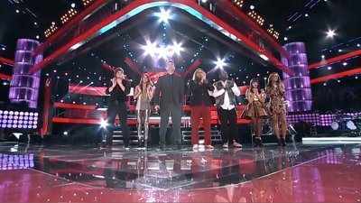 The Voice - Live Top 8 Results Show - Season 3 Episode 26