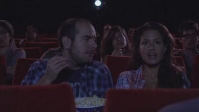 Bref. Je suis allé au cinéma avec cette fille