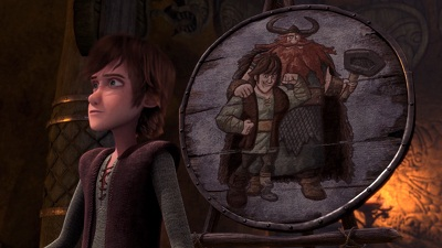 Portrait of Hiccup as a Buff Man