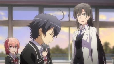 Quietly, Yukinoshita Yukino Makes a Decision