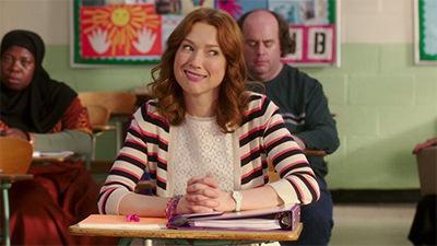 Kimmy Goes to School!