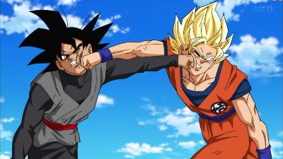 Goku Vs Black! The Closed Path to the Future