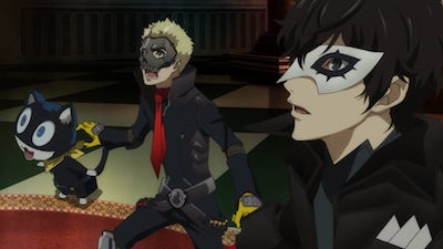 Watch Persona 5 the Animation - Season 1 Episode 2 : Let's