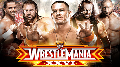 WWE Pay-Per-View - Wrestlemania 26 - Season 26 Episode 3
