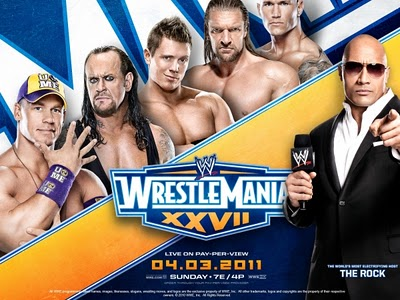 WWE Pay-Per-View - Wrestlemania 27 - Season 27 Episode 3