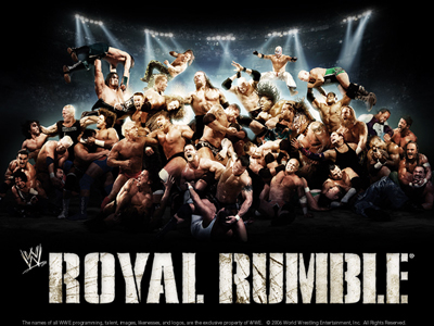 WWE Pay-Per-View - Royal Rumble 2007 - Season 23 Episode 2