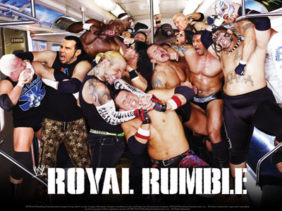 WWE Pay-Per-View - Royal Rumble 2008 - Season 24 Episode 1