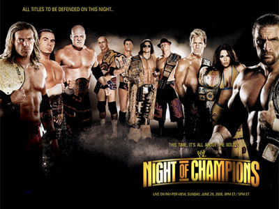 WWE Pay-Per-View - Night of Champions 2008 - Season 24 Episode 7