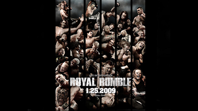 WWE Pay-Per-View - Royal Rumble 2009 - Season 25 Episode 1