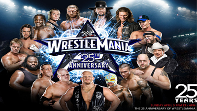 WWE Pay-Per-View - Wrestlemania 25 - Season 25 Episode 3