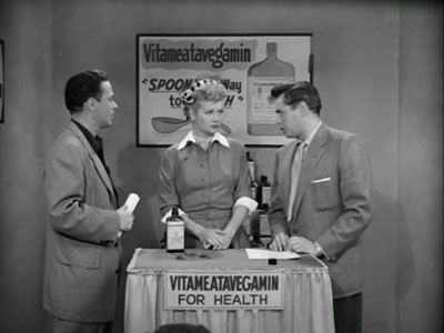 Lucy Does a TV Commercial