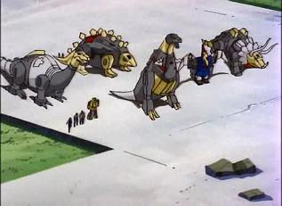 Desertion of the Dinobots (1)