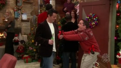 Joey and the Christmas Party