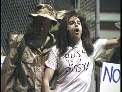 Bush is a Pussy