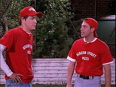 Two Guys, a Girl and a Softball Team
