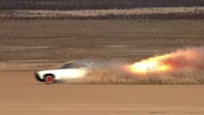 JATO Rocket Car: Mission Accomplished?