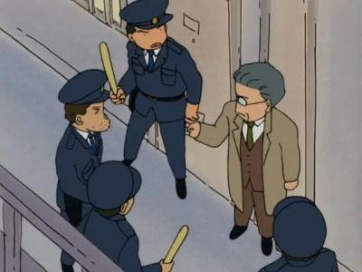 A Burglar Breaks In