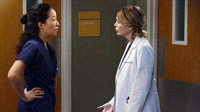 Grey's Anatomy - Somebody That I Used to Know - Season 10 Episode 10