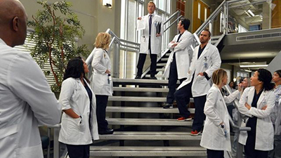 Grey's Anatomy - You've Got to Hide Your Love Away - Season 10 Episode 14