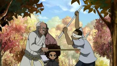 Granddad's Fight