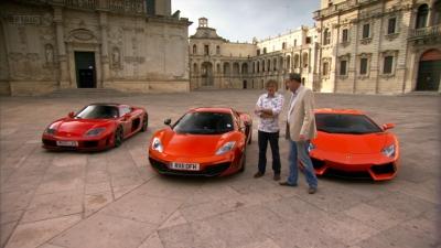 Top Gear - Season 18 Episode 1 : Italian Supercar Shootout