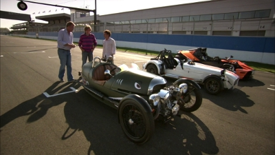 Top Gear - Season 18 Episode 6 : Three Stripped Out Track Cars at Donington
