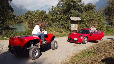 Top Gear - Season 21 Episode 2 : Alfa 4C vs. Quadski