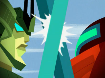 XLI: Robo-Samurai vs. Mondo Bot