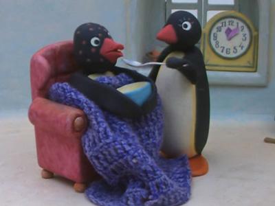 Pingu's Grandfather Is Sick