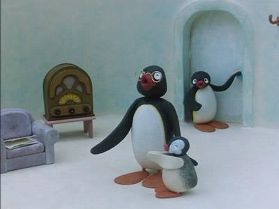 Pingu's Grandfather Comes to Visit