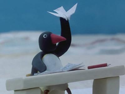 Pingu and the Paper Aeroplane