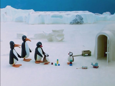 Pingu and the Stranger