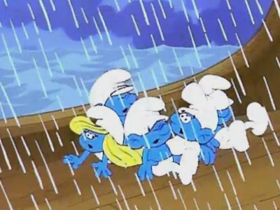 Castaway Smurfs