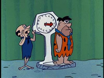 Fred Flintstone: Before and After