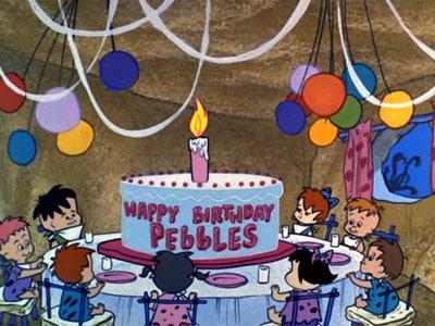 Pebbles' Birthday Party