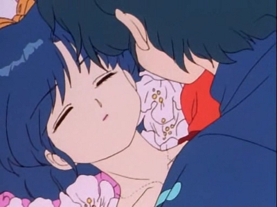Kissing is Such Sweet Sorrow! The Taking of Akane's Lips