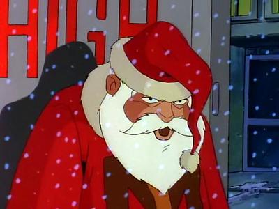 The Tick Loves Santa!