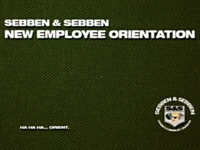 Sebben and Sebben Employee Orientation