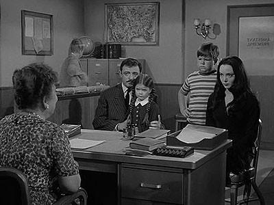 The Addams Family Goes to School