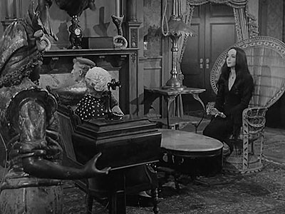 Morticia Joins the Ladies League