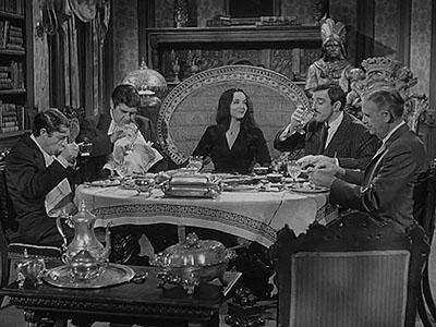 The Addams Family Meet the V.I.P.'s