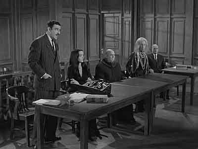 The Addams Family in Court