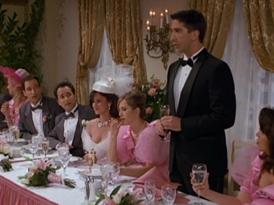 The One With Barry And Mindy's Wedding