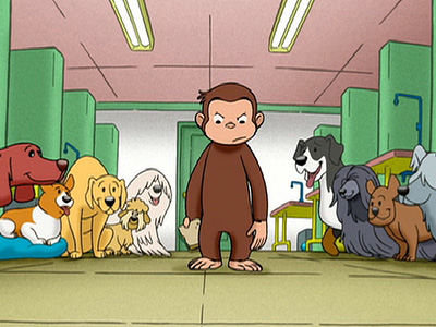 Curious George, Dog Counter