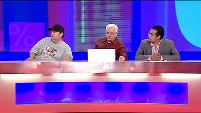 Johnny Vegas, Krishnan Guru-Murthy, Michael McIntyre